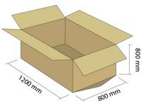 Klopová krabica z 5VVL 1200x800x800 mm (bal. 10 ks)