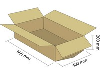 Klopová krabica z 5VVL 600x400x200 mm