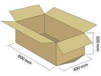Klopová krabica z 5VVL 600x400x300 mm