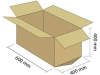 Klopová krabica z 5VVL 600x400x400 mm