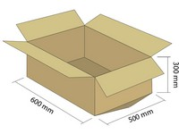 Klopová krabica z 5VVL 600x500x300 mm