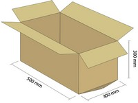 Klopová krabica z 5VVL 500x300x300 mm