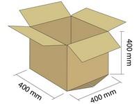 Klopová krabica z 5VVL 400x400x400 mm
