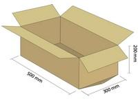 Klopová krabica z 3VVL 500x300x200 mm