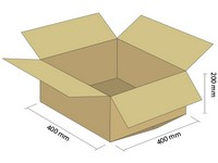 Klopová krabica z 3VVL 400x400x200 mm