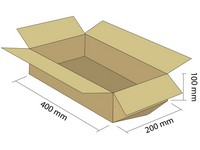 Klopová krabica z 3VVL 400x200x100 mm