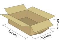 Klopová krabica z 3VVL 300x200x100 mm