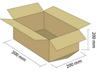 Klopová krabica z 3VVL 300x200x200 mm