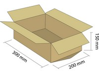 Klopová krabica z 3VVL 300x200x150mm