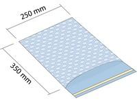 Sáčok z bublinkovej fólie 250x350 mm so samolepiacou 50mm klopou