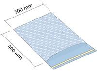 Sáčok z bublinkovej fólie 300x400 mm so samolepiacouí 50mm klopou