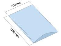 LDPE vrece 700x1100 mm, hrúbka 60 µm