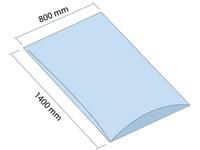 LDPE vrece 800x1400 mm, hrúbka 100 µm