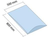 LDPE vrece 500x800 mm, hrúbka 30 µm