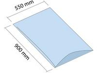 LDPE vrece 550x900 mm, hrúbka 200 µm