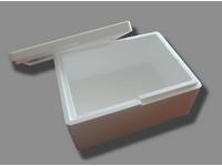 Polystyrénový box s vekom 390x290x185 mm