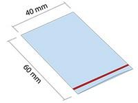 ZIP sáčok 40x60 mm