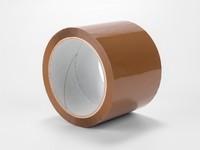 Lepiaca páska hnedá, 75mm x 66m, akryl