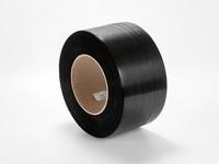 Viazacia páska PP 10 x 0,45 mm; návin 3500 m; čierna