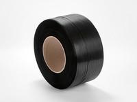 Viazacia páska PP 12 x 0,5 mm; návin 3100 m; čierna