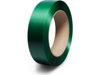 Viazacia páska PET 15 x 0,6 mm; návin 2500 m; zelená
