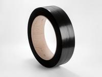 Viazacia páska PP 12 x 0,7 mm; návin 2200 m; čierna