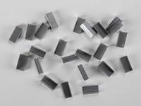 Kovové spony pre PP a PET pásky šírka 10 mm