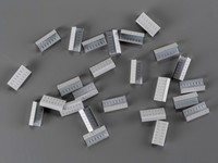 Kovové spony pre PP a PET viazacie pásky šírka 12 mm