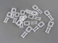 Plastové spony pre PP viazacie pásky šírka 16 mm