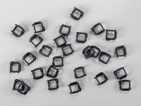 Fosfátové (drôtené) spony pre PP a PES viazacie pásky šírka 13 mm