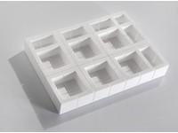 Polystyrénový ochranný roh 75x75x75 mm; sada 35 kusov