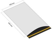 Samolepiaca plastová obálka 450x650 mm s klopou (balenie 100 ks)