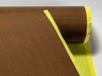 Teflónová tkanina 80 µm, šírky 1000 mm. Lepivá.