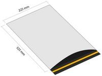 Samolepiaca plastová obálka 225x325 mm s klopou (balenie 100 ks)