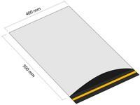 Samolepiaca plastová obálka 400x500 mm s klopou (balenie 100 ks)